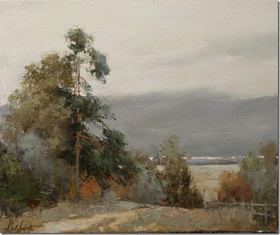 pino en otoño-Alexander-Zavarin-ENKAUSTIKOS