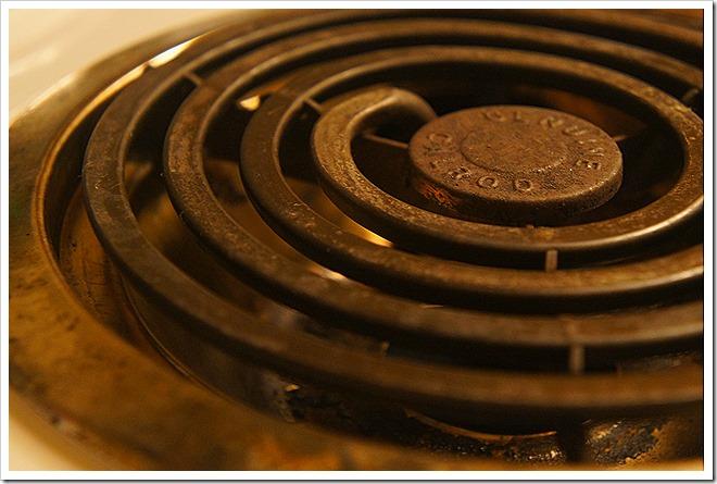 public domain electric stove