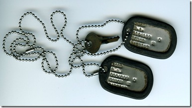 Russell's Dogtags from Viet Nam 2