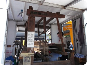 Almost 200 year old loom