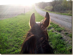 A wonderful ride on my bestie