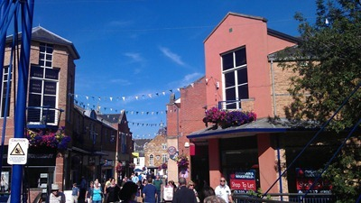 Market Harborough - what a glorious day!