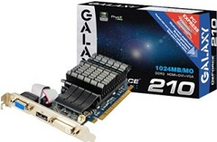 Galaxy NVIDIA-GeForce-GT-210-Graphics-Card