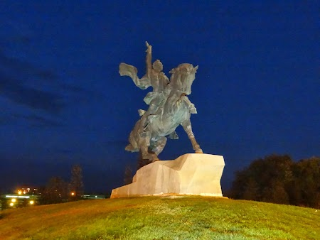 Statuia lui Suvorov la Tiraspol
