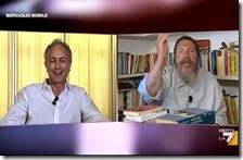 Marco Travaglio e Giuliano Ferrara