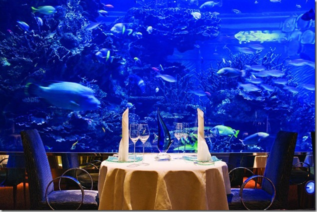 Burj Al Arab Dubai Best Restaurant Design