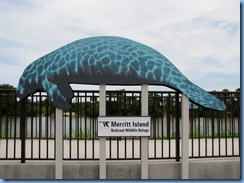 7808 Courtenay Parkway (State Road 3), Merritt Island Wildlife Refuge, Florida - Manatee Observation Deck