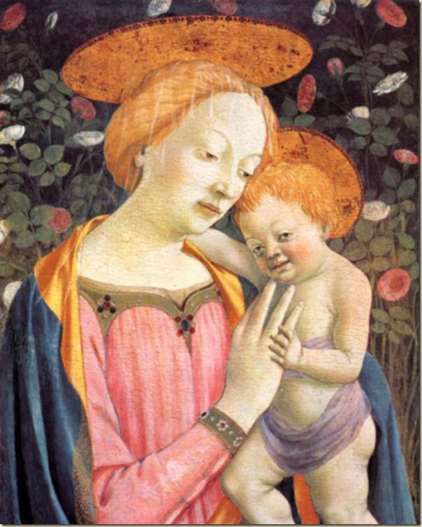 Domenico Veneziano, Madone et enfant
