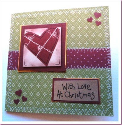 With Love At Chistmas Card