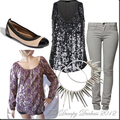 floral & sequins