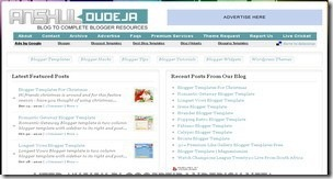 top 20 free blogger templates sites 17 Anshul Dudeja