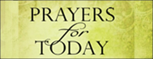 prayers for today banner