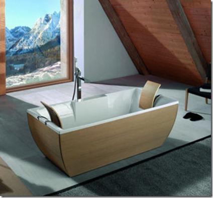 Baños Modernos con Tina2