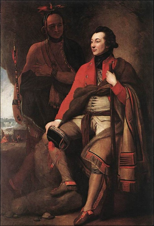 Benjamin West, Portrait du colonel Johnson