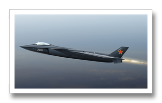 China Stealth Combat Fighter