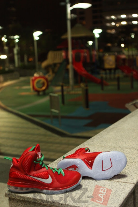 Nike LeBron 9 8220Christmas8221 Official Release Date 1225