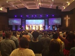 Calvary Easter Service