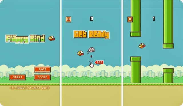 CARA MAIN FLAPPY BIRD