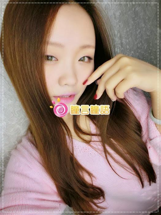 韓國GEO隱形眼鏡-GEO Sparkling 火花四色綠綠色美瞳007