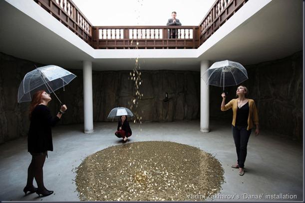 vadim-zakharovs-danae-installation-at-venice-biennale-2013