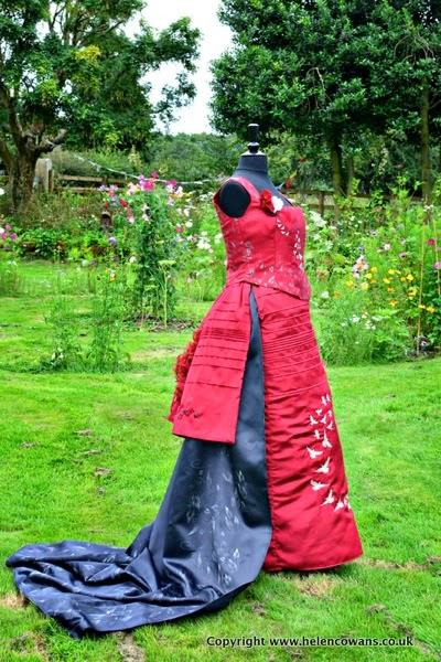 Edwardian Dress side finished