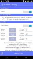 Screenshot of Work Calendar Lite
