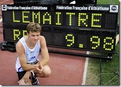 Christophe Lemaitre, 100m