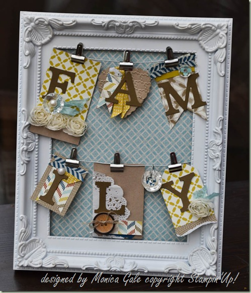 Stampin'Up! Home Decor frame