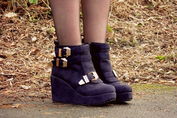 chicnova buckle boots