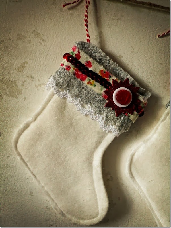 cafe creativo - Anna Drai - sizzix big shot - stocking christmas (2)