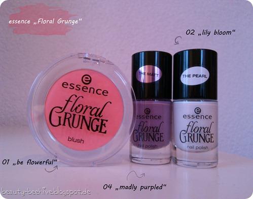 essence Floral Grunge LE