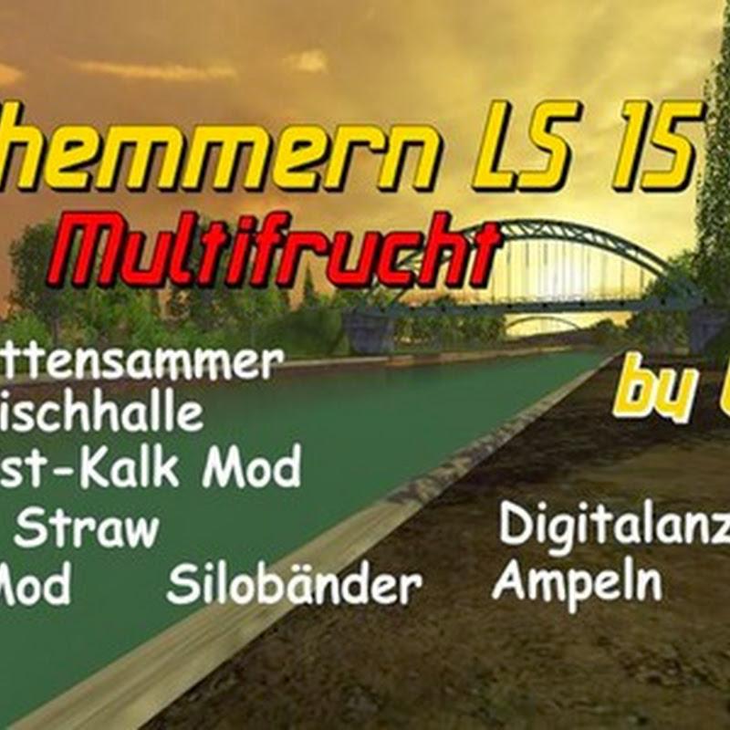 Farming simulator 2015 - Suedhemmern v 2.0 Multifrucht