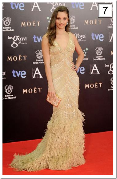 Mejor vestidas Goya 04 Michelle Jenner