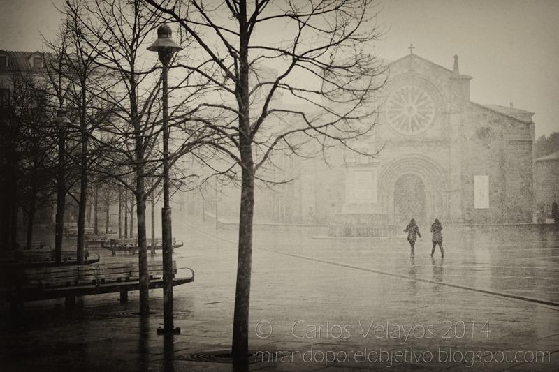 Nieva en la Plaza -2-