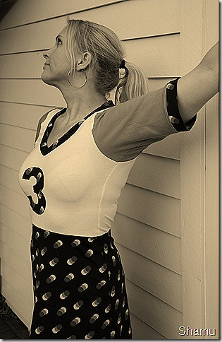 Retro baseball hottie 3