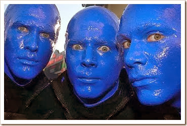 homens azuis nao falam