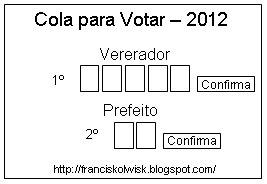 cola para votar em 2012