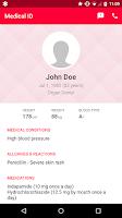Screenshot of Medical ID (ICE): Emergency