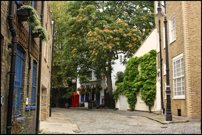 Hidden mews in Mayfair (1)