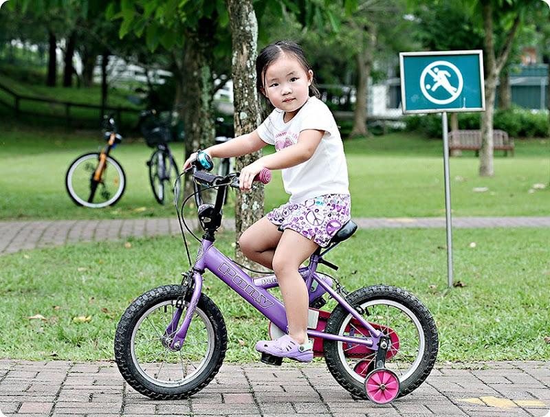 Zoe-on-bike
