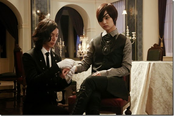 hiro mizushima & ayame goriki BLACK BUTLER