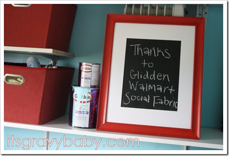 Glidden Paint Makeover