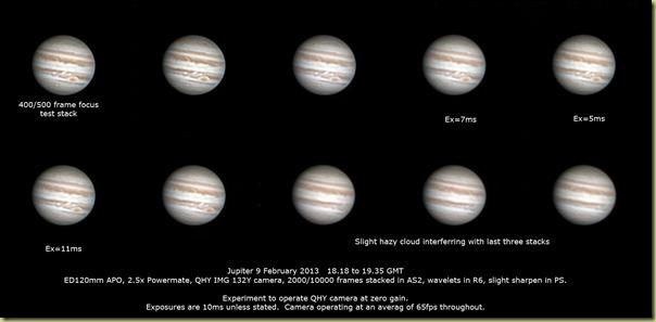 Jupiter 9 february 2013
