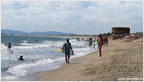 Дикий пляж. Вид в сторону Помория. www.timeteka.ru