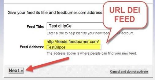 indirizzo-feed-feedburner