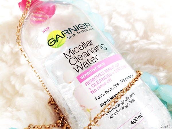 garnier micellar water skin face cleaning sensitive review