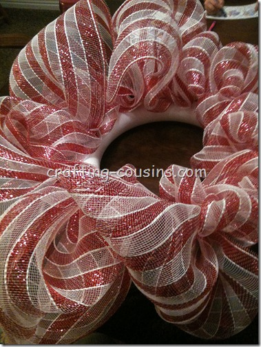 Mesh Wreath (6)