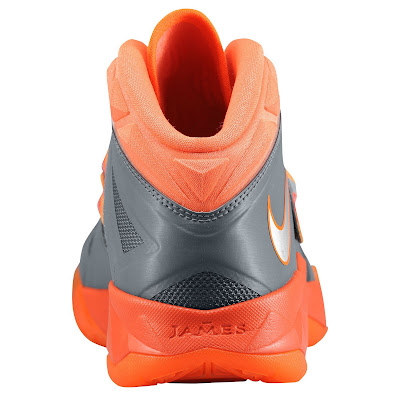 nike zoom soldier 7 gr black orange 1 02 eastbay LEBRONs Nike Zoom Soldier VII $135 Pack Available at Eastbay