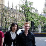 meeting a random Japanese tourist in downtown london in London, London City of, United Kingdom