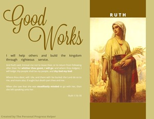 Scriptural Women of Value Poster Ruth Free Download